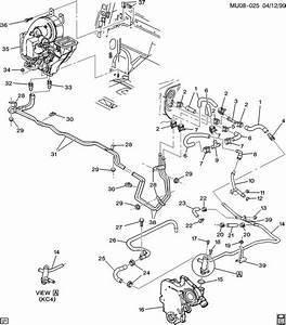 29 2000 Pontiac Montana Heater Hose Diagram