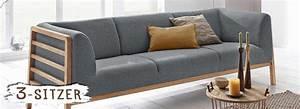 Couch Mit Dauerschlaffunktion : 3 sitzer sofas im landhausstil online kaufen ~ Frokenaadalensverden.com Haus und Dekorationen