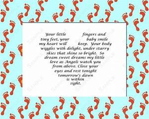 Items similar to Baby Boy Girl Love Poem INSTANT DOWNLOAD ...
