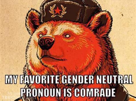 Communist Meme - image gallery communist bear