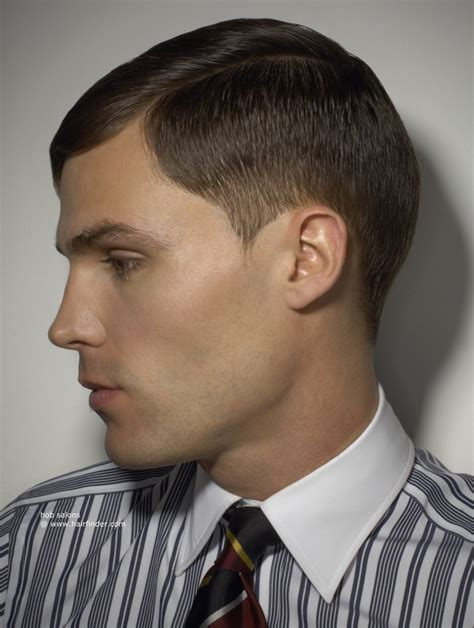 masculine clipper cut hairstyle with the hair tapered