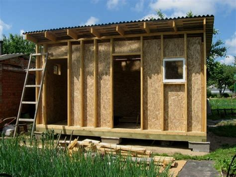Slant Roof Shed Construction how to build a shed with slanted roof portable storage