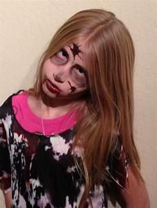 Zombie makeup kids | Kids | Pinterest