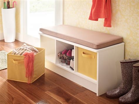 cube storage bench 20 space saving cube storage ideas