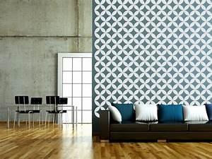 Geometric wall decal lattice retro by