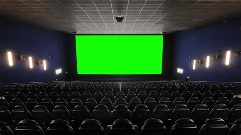 cinema  theater  house  green screen