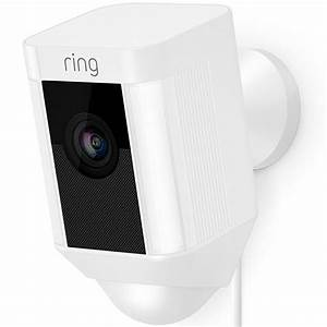 Ring 1080p Infrared Floodlight Wired WiFi Spotlight Camera ...