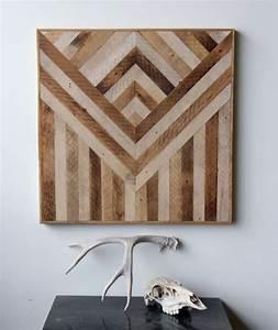 Wohnzimmer Wand Holz : 40 verbl ffende ideen f r wanddeko aus holz ~ Lizthompson.info Haus und Dekorationen