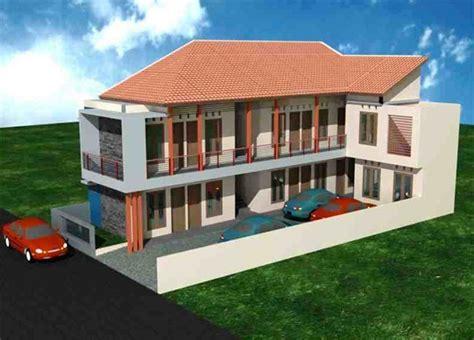 desain rumah kost hemat biaya gambar desain rumah