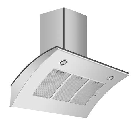Cookology ARCH900SS 90cm Extractor Fan   Angled Stainless