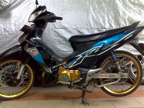 Modifikasi Supra X by Gambar Modifikasi Motor Honda Supra X 125 Terbaru