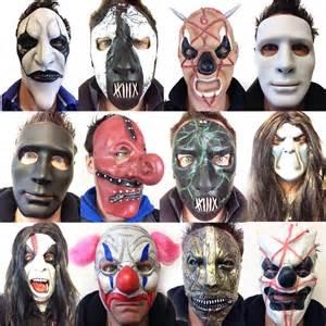 Slipknot Halloween Masks 2015 by Slipknot Style Latex Masks Mick Death Borgir Clown Mask
