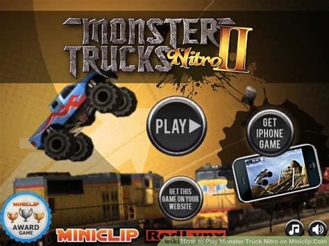 miniclip monster truck nitro how to play monster truck nitro on miniclip com 6 steps