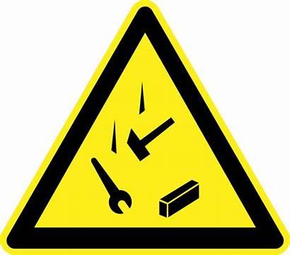 Hazard Sign Falling Objects Symbol Warning Danger