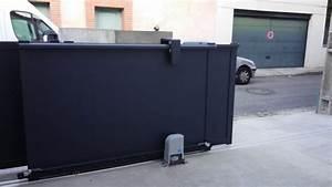 Portail Coulissant 2 Vantaux : portail aluminium double coulissant t lescopique ~ Edinachiropracticcenter.com Idées de Décoration
