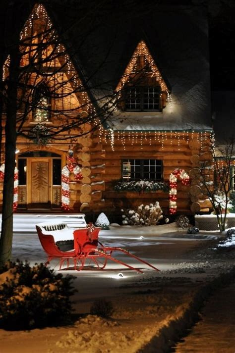 cabin christmas ideas  pinterest plaid
