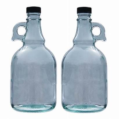 Gallone Glass Bottle Litre Flagon Cider Wine