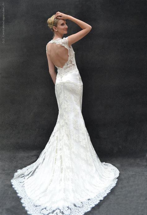 robe mariage de cr 233 ateur dos nu blanc cass 233