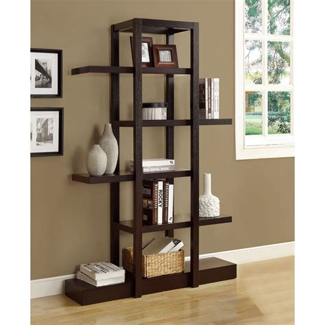 Offenes Regal by Cappuccino 71 Inch Open Display Shelf Free Shipping