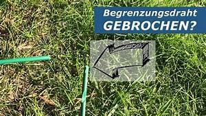Kabel Für Rasenmäher : rasenm her roboter kabel reparieren youtube ~ Watch28wear.com Haus und Dekorationen