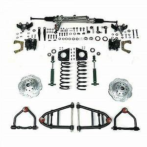suspension steering vintage car truck parts parts With 1955 1959 chevy truck mustang ii front end suspension power rack