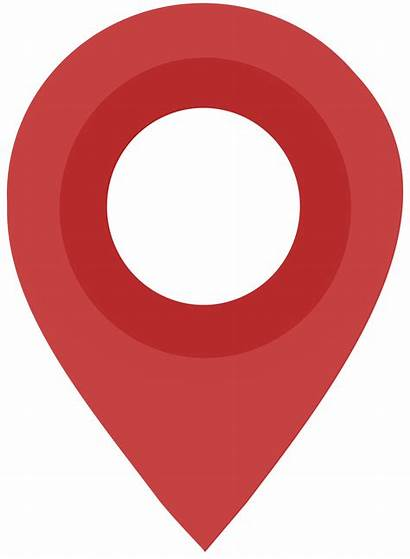Map Clipart Transparent Maps Point Flat Push