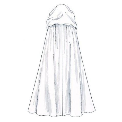Back > Imgs For Hood Cloak Drawing Sketch Coloring Page