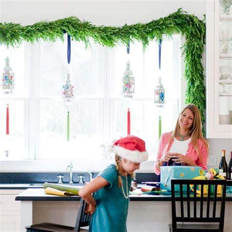 Weihnachtsdeko Fenster Girlande by Weihnachtsdeko Und Ideen F 252 R Zuhause Festliche Girlanden