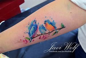 19 cool looking watercolor tattoos you ll be dying to get