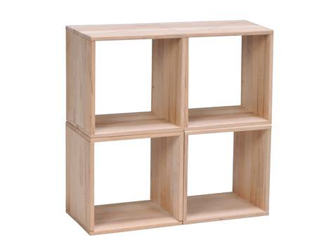 l etagere etag 232 re cube en h 234 tre massif personnalisable l36cm nolan