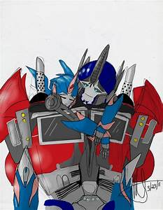 Transformers Prime Arcee X Optimus Prime Pictures to Pin ...