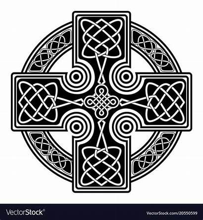 Celtic Cross Symbols Druid Vectorstock Vectors