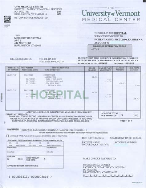 medical bill bills less terrifying with human centered design