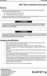 Elster Solutions Rx9a Automatic Meter Reading System