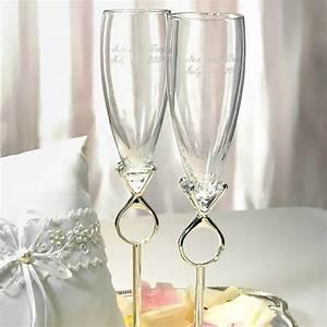 Flute A Champagne : decoration de mariage theme diamant mariageoriginal ~ Teatrodelosmanantiales.com Idées de Décoration