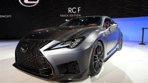 auto show de detroit  lexus  rc  track edition