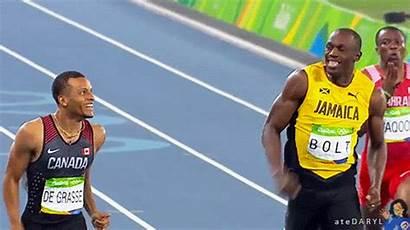 Usain Bolt Andre Grasse Info Wins Gold