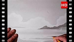 Comment Dessiner La Mer : comment dessiner un petit paysage sur la mer youtube ~ Dallasstarsshop.com Idées de Décoration
