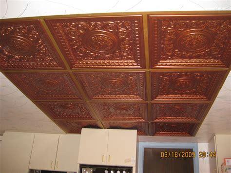 Plastic Drop Ceiling Tiles Look Like Tin Www