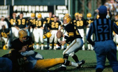 bobby layne drops   pittsburgh steelers