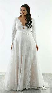best 25 curvy wedding dresses ideas on pinterest plus With long sleeve lace wedding dress plus size