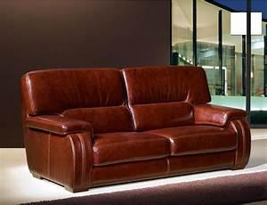 Canape Cuir Buffle Solde Maison Design
