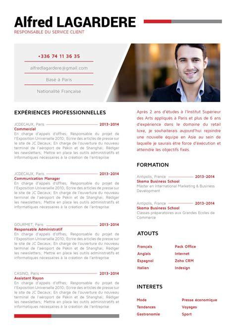 Cv Pour by Cv Les Conseils Pour Qu Il Soit Agr 233 Able 224 Lire Madame