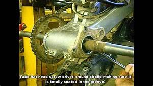 Honda 400ex Bearing Carrier Install - Super Atv