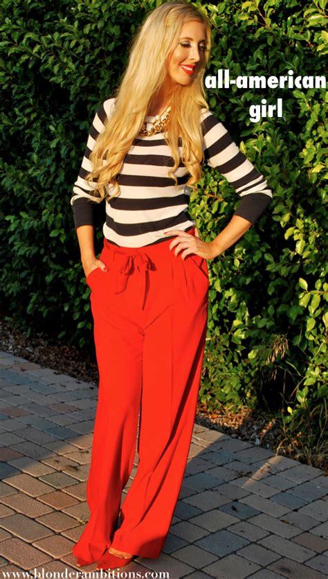 Look Of The Week  Allamerican Girl  Blonder Ambitions