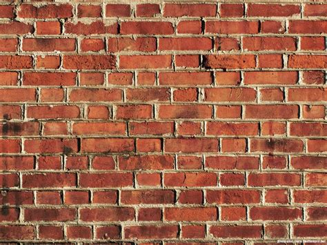 Red Brick Wall Powerpoint Background  Minimalist Backgrounds