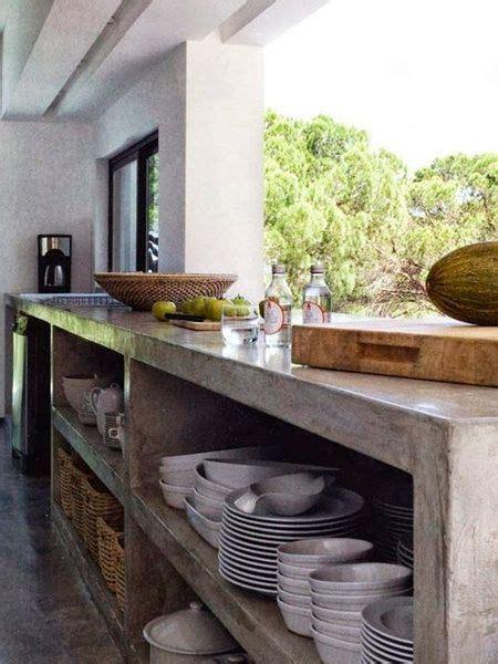 cocinas de exterior kitchens cocina de concreto