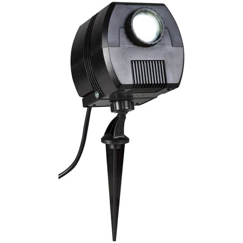 christmas light projector home depot lightshow applights led rgb spotlight stake set of 3