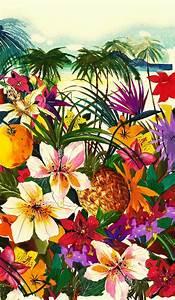 Floral and tropical pattern. Summer mood - Klassische ...