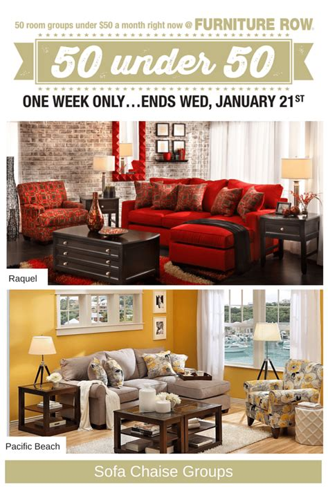 Furniture Row Living Room Groups by Furniture Row Living Room Sets
